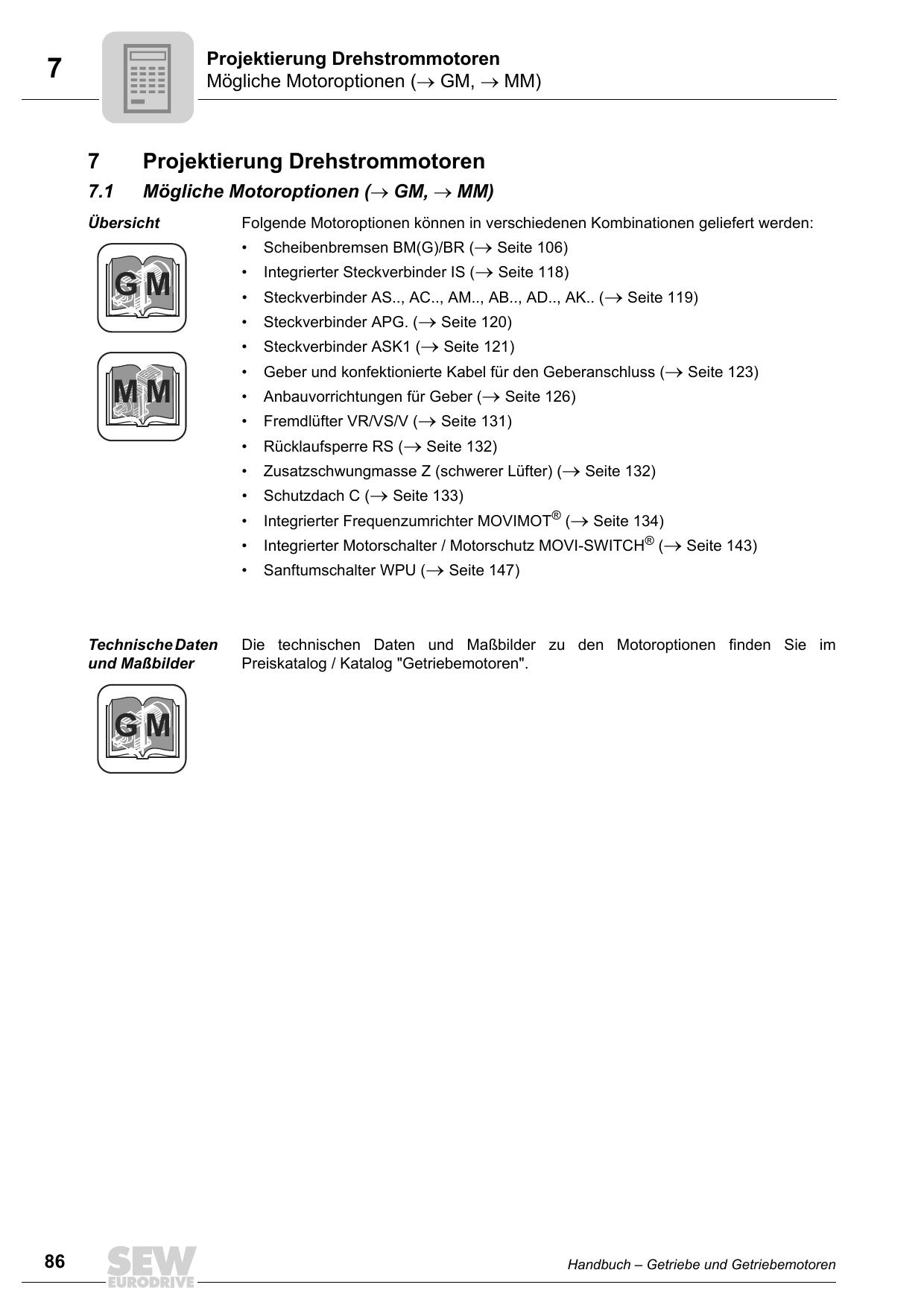 hochlaufzeit dxrehstrommotor unter last
