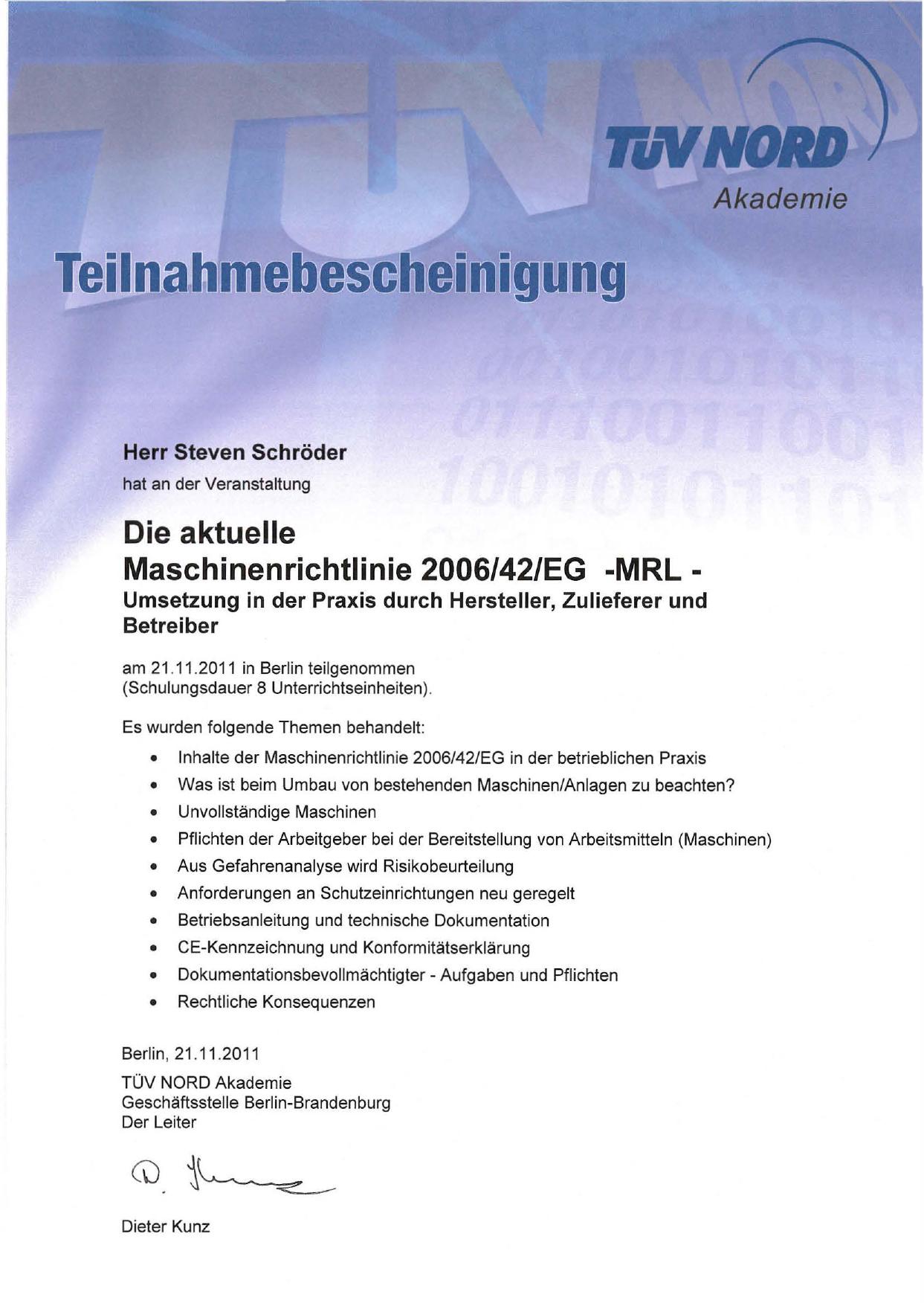 Pdf maschinenrichtlinie 2006/42/eg