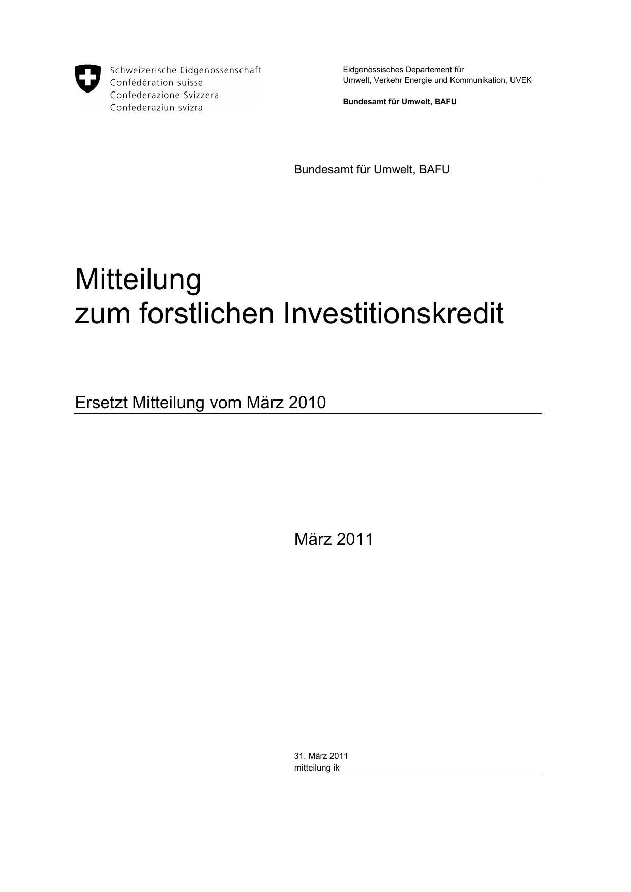 Mitteilungen des BAFU - Kanton Basel