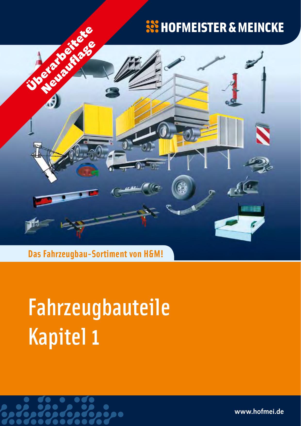 Fahrzeugbauteile Kapitel 1 - HOF-MEI-KO   manualzz.com