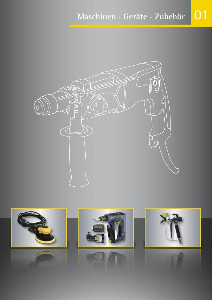Maschinen · Geräte · Zubehör 01 - geno | manualzz.com