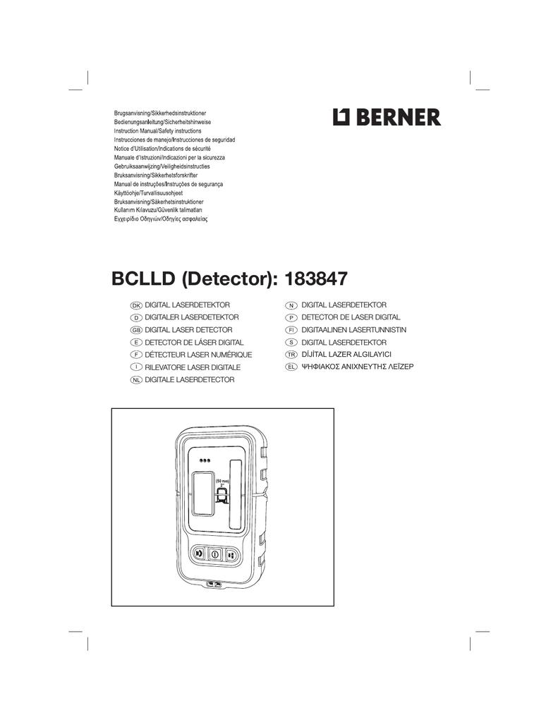 N237100 Man Detector Bclld Detector Berner Indd Manualzz