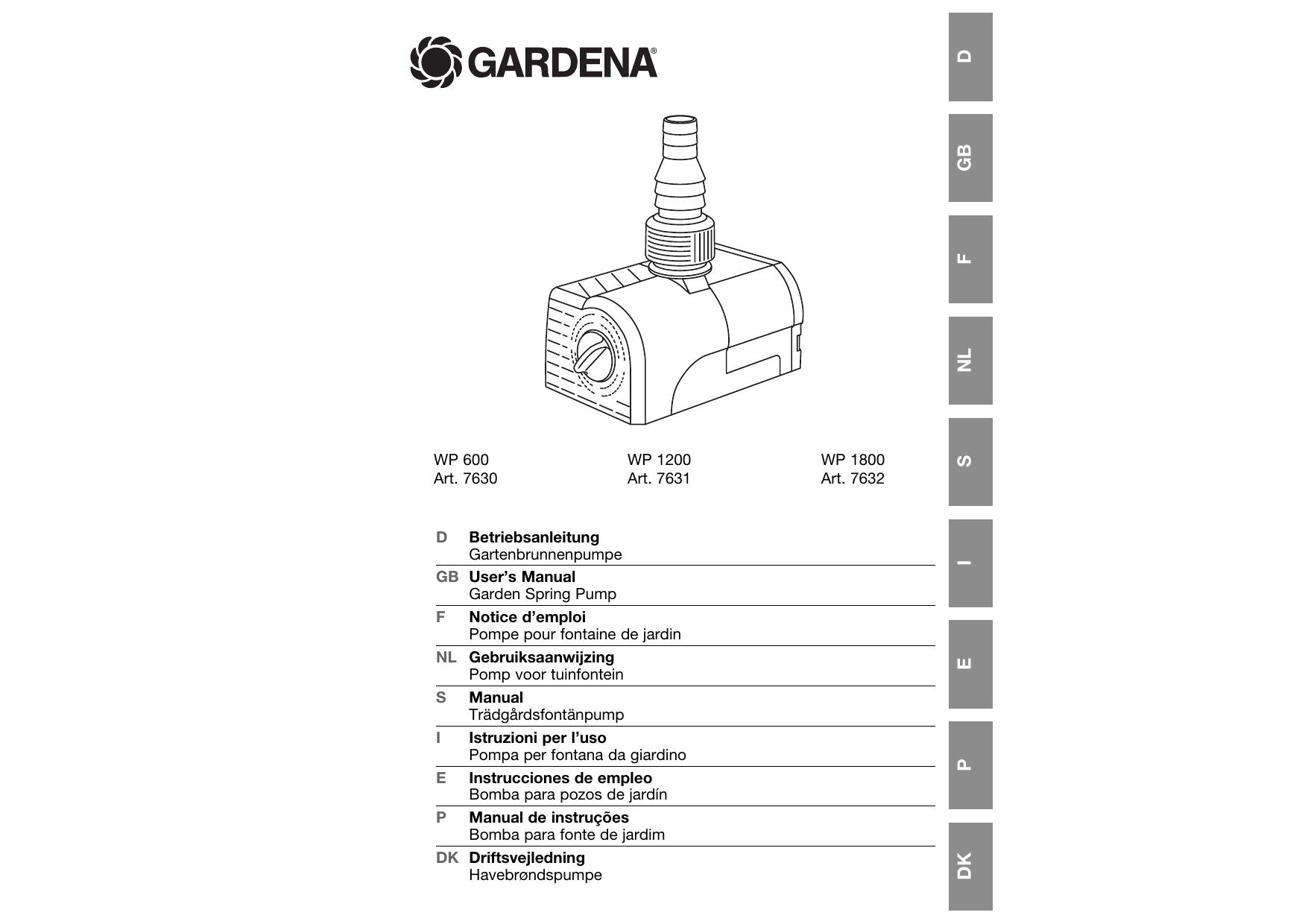 Standard Gardena Pieza