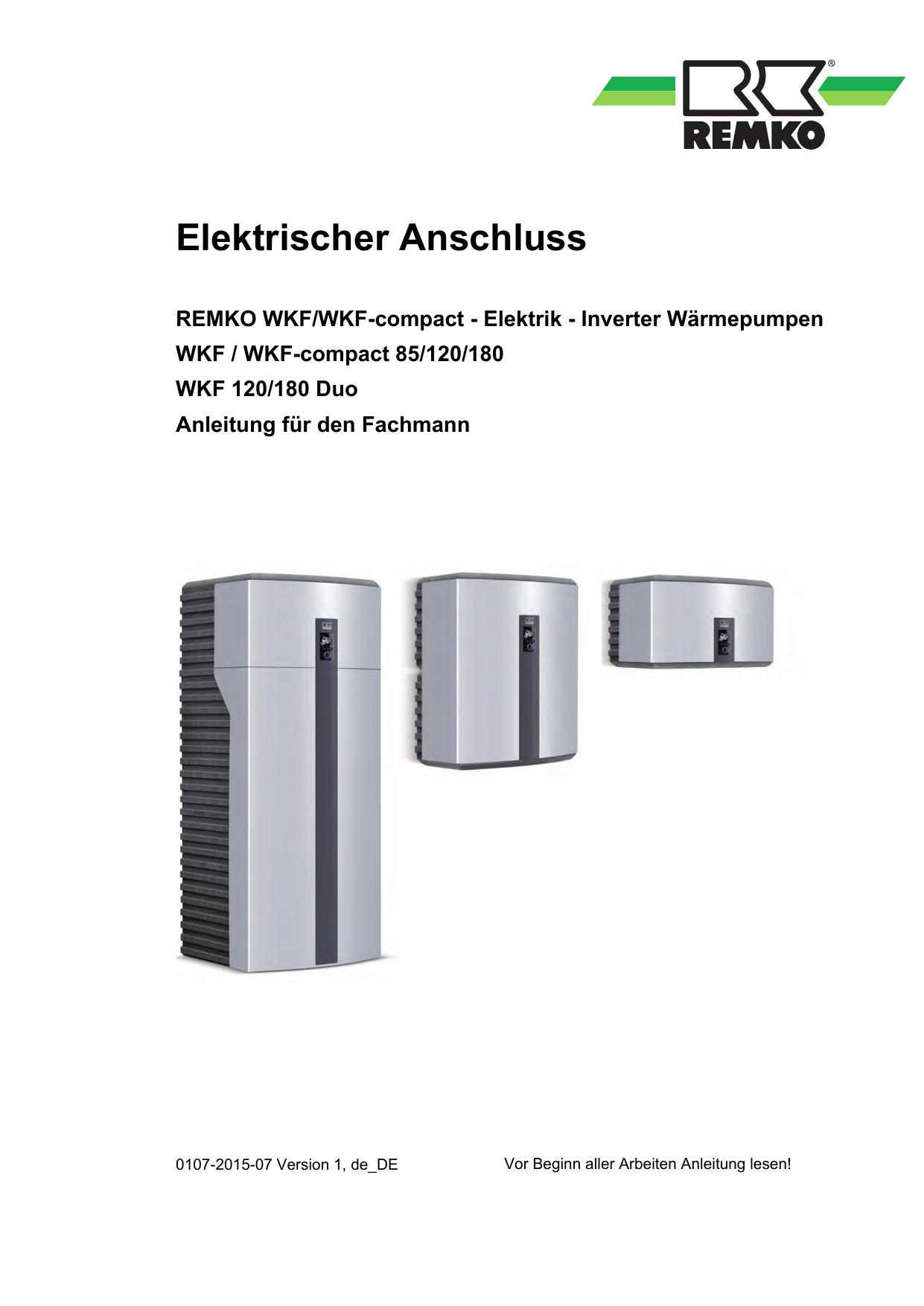 WKF-120-180Duo Elektischer Anschluss, 1, de_DE   manualzz.com