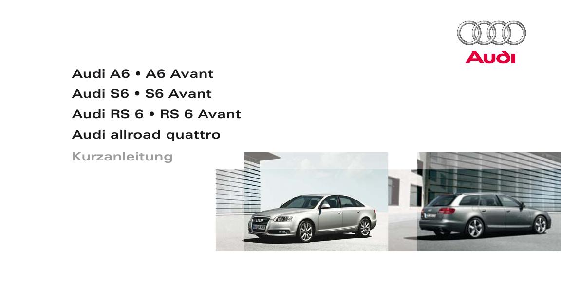 Fensterheber elektrisch vorne links Fahrertür ohne Motor Audi A6 Avant Allroad