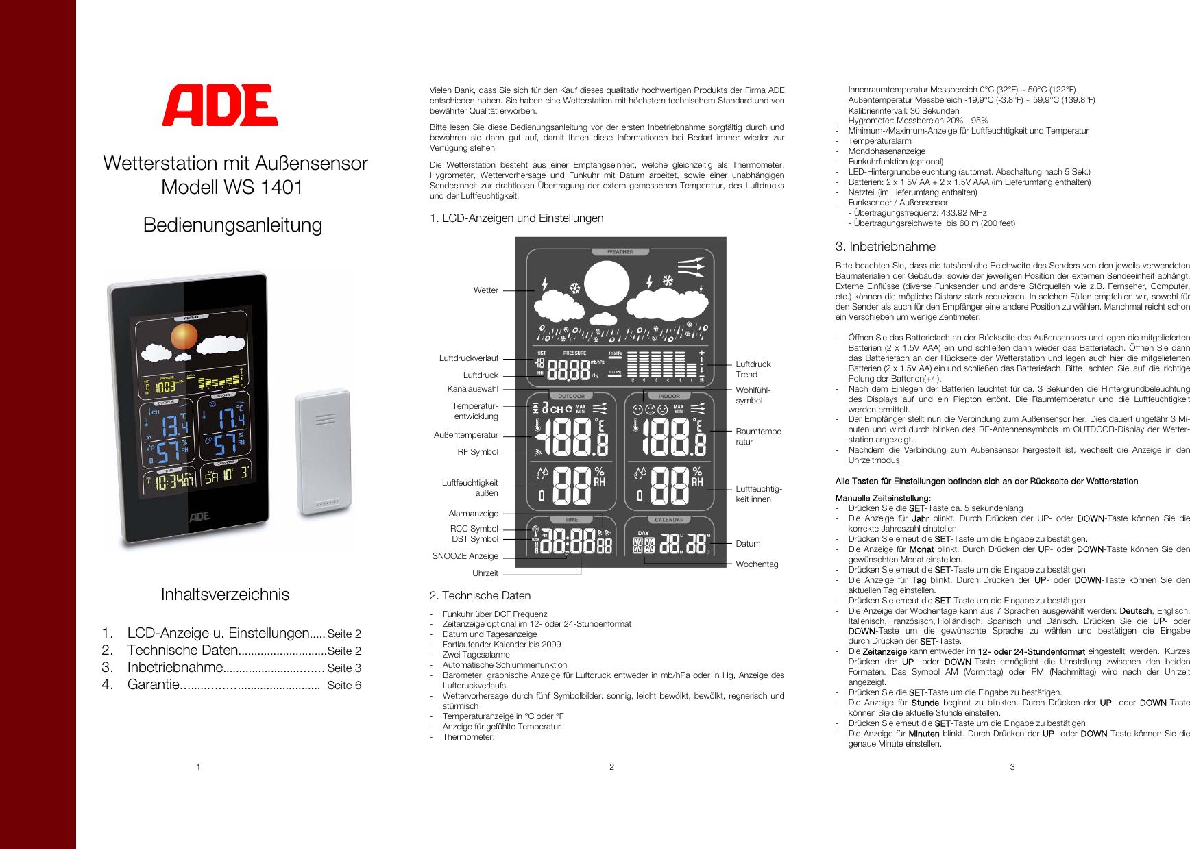 excelvan cl720d manual pdf