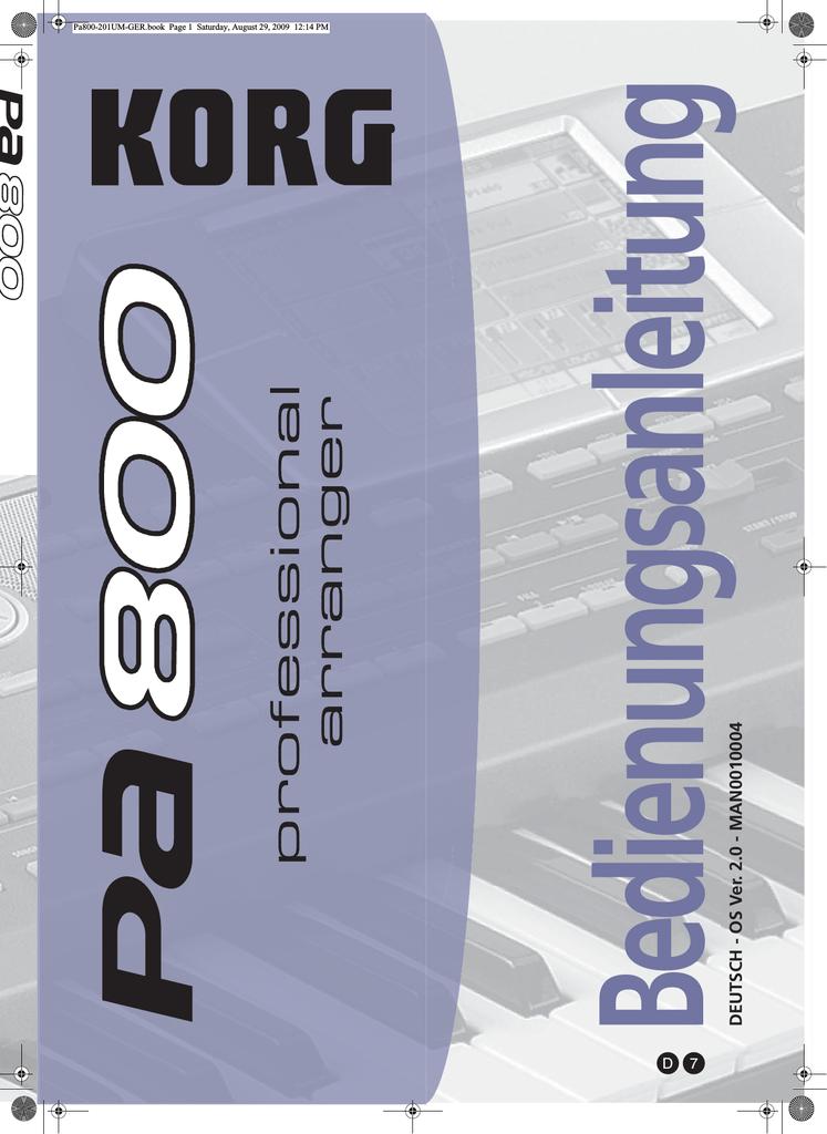 R303244der Weihnachten.Style Korg Manualzz Com