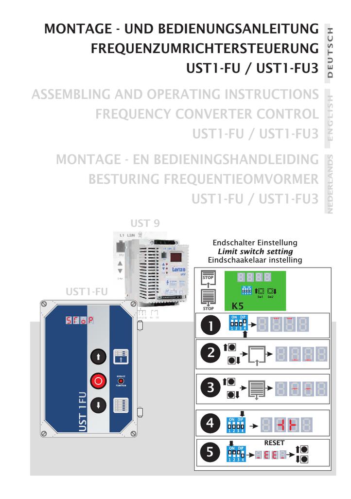 Bedienungsanleitung UST1-FU | manualzz.com