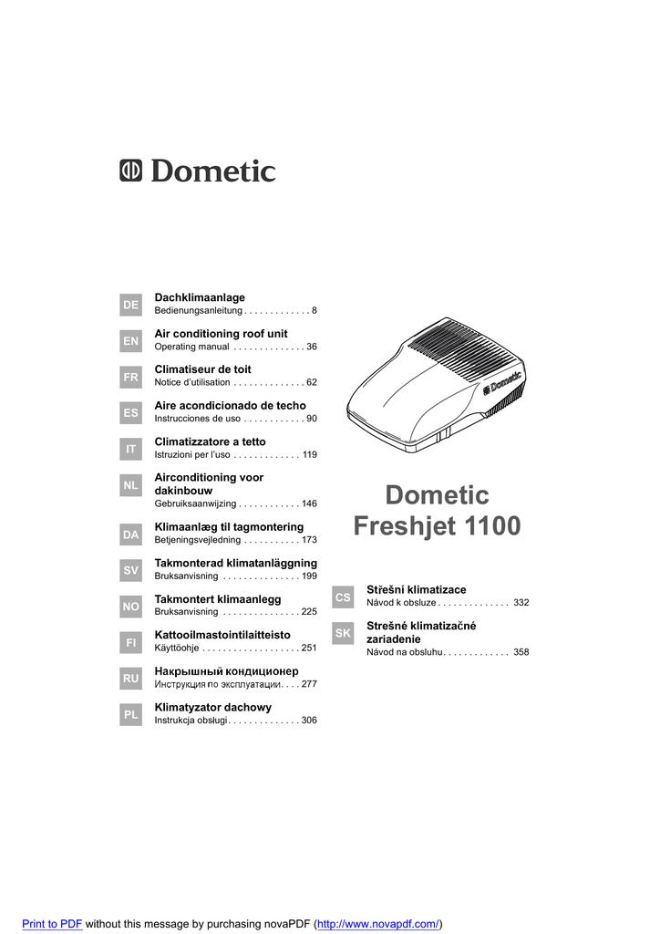 dometic freshjet 1100. Black Bedroom Furniture Sets. Home Design Ideas