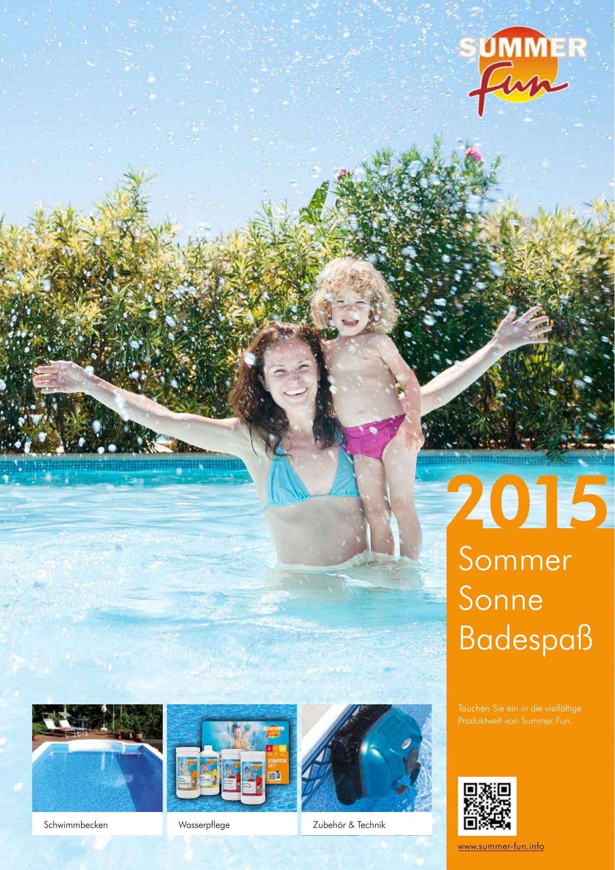 Filterkartusche Hochleistungsfilterkartusche Summer Fun Wülfing /& Hauck Pool