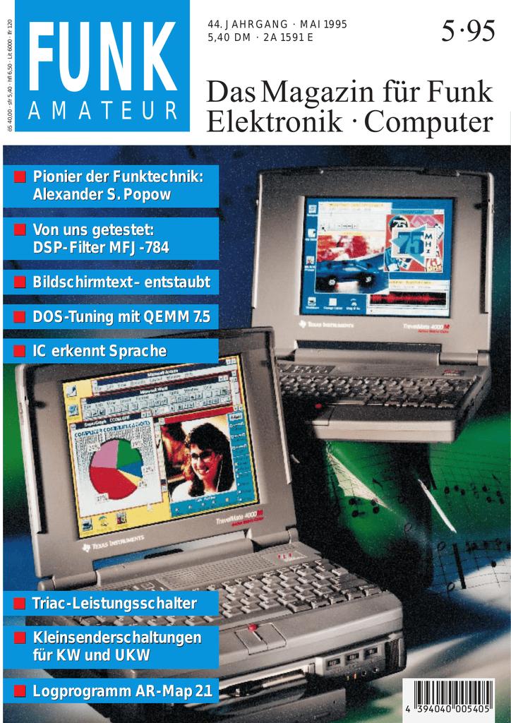 Das Magazin für Funk Elektronik · Computer   manualzz.com