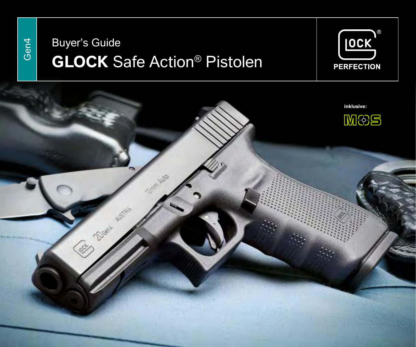 GLOCK Safe Action® Pistolen   manualzz.com