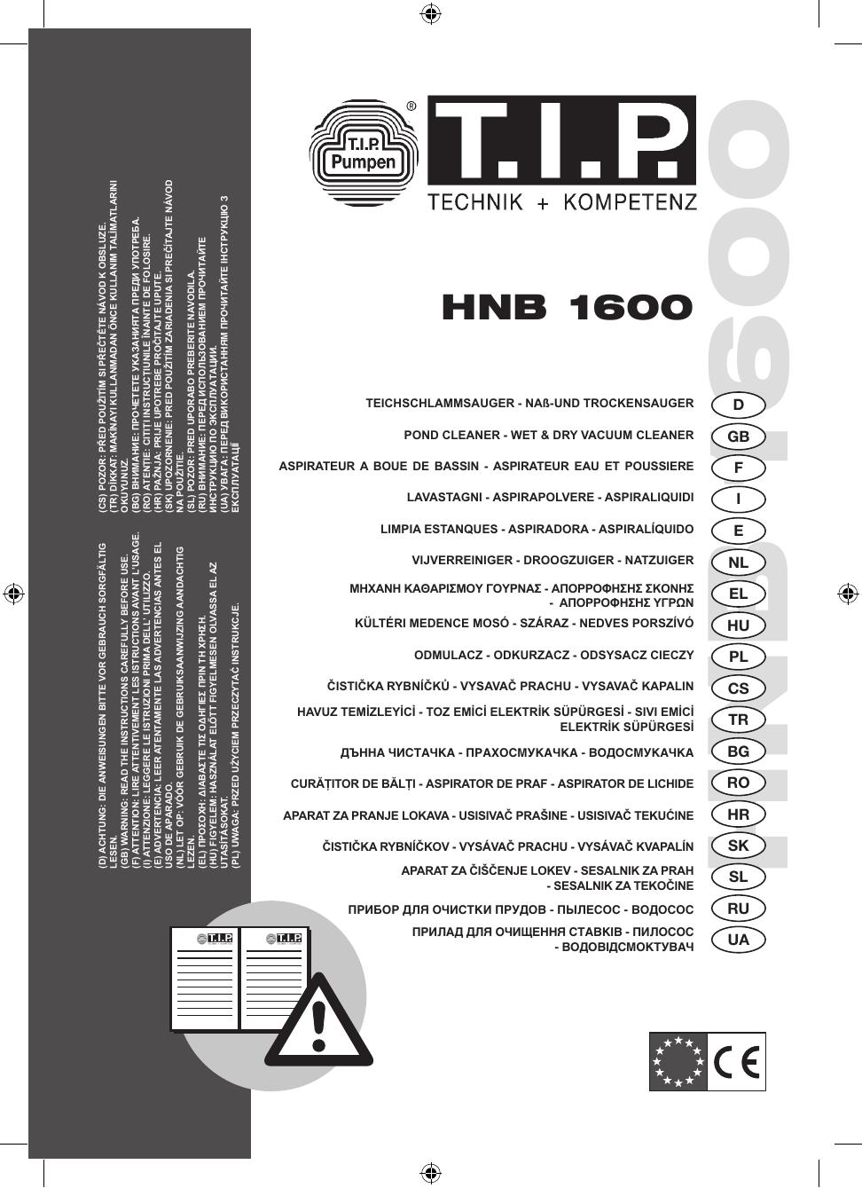 Hnb 1600 Manualzzcom
