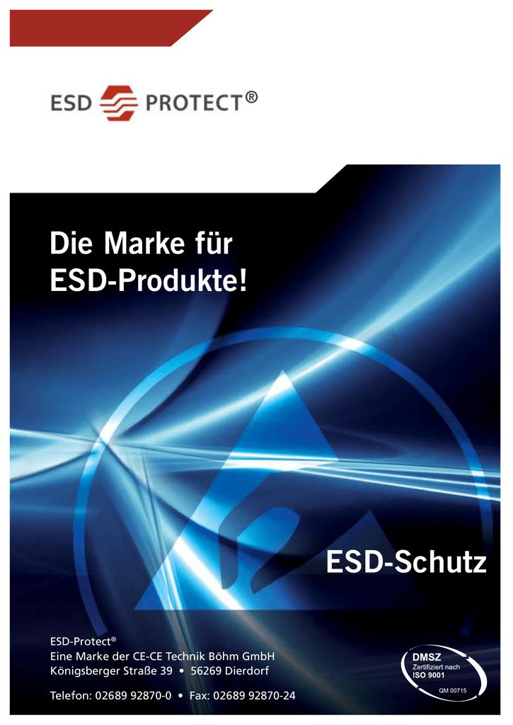 PDF-Download Katalog Alles über unsere komplette - ESD   manualzz.com