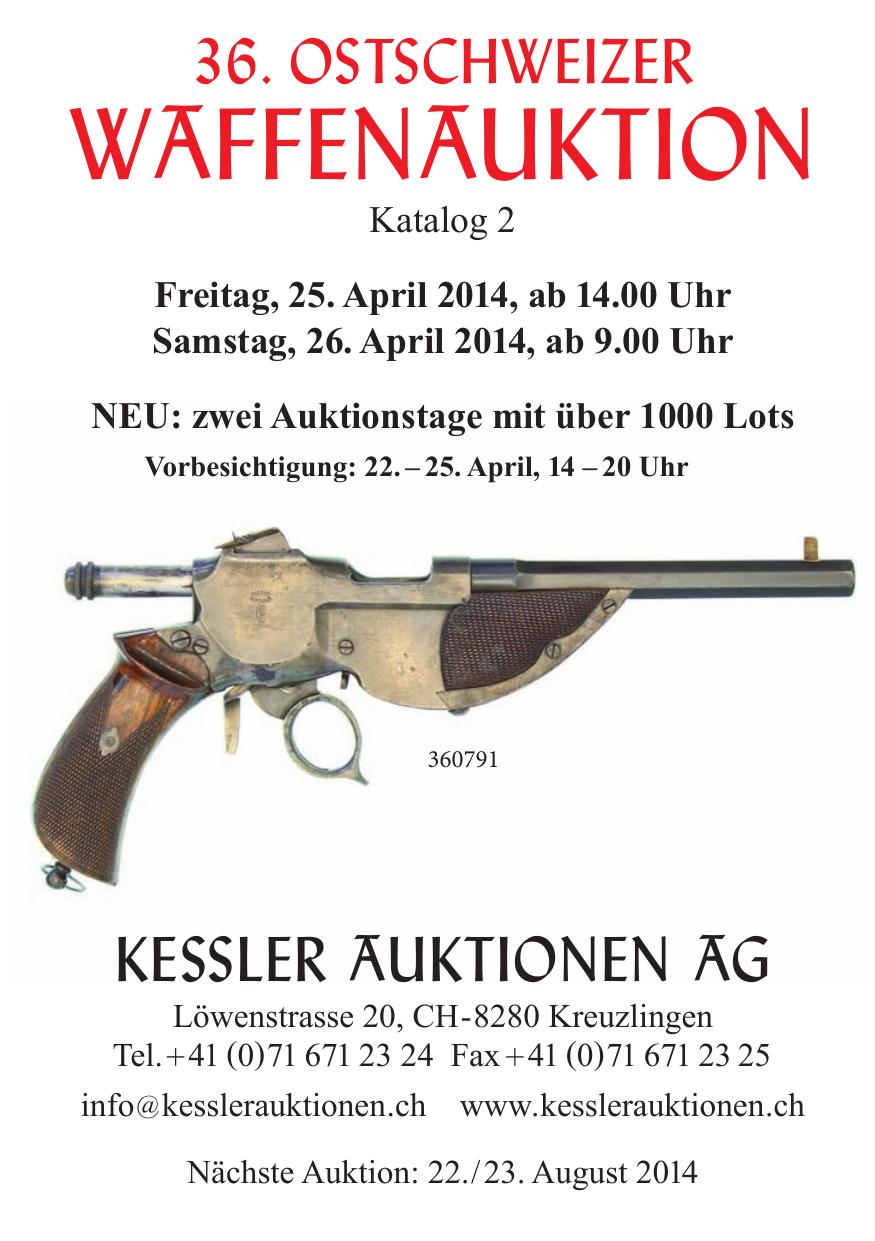 WAFFENAUKTION - Kessler Auktionen   manualzz.com
