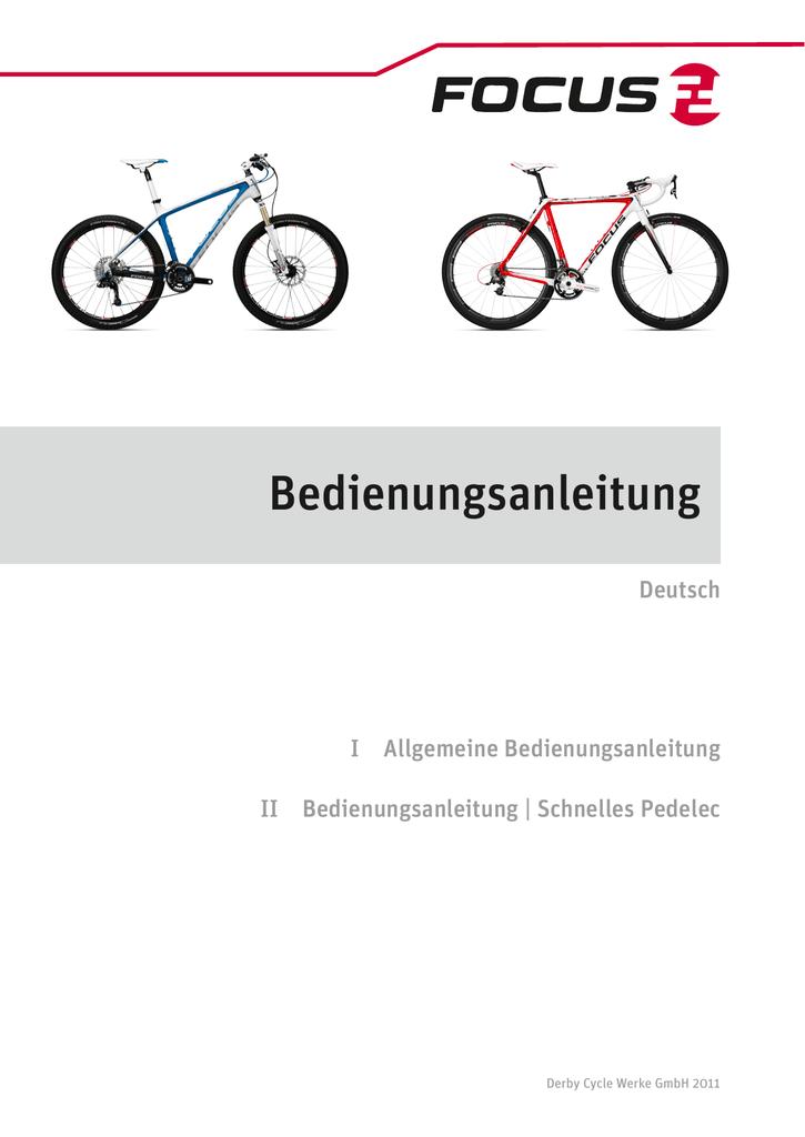 Bedienungsanleitung | Focus | Deutsch | manualzz.com