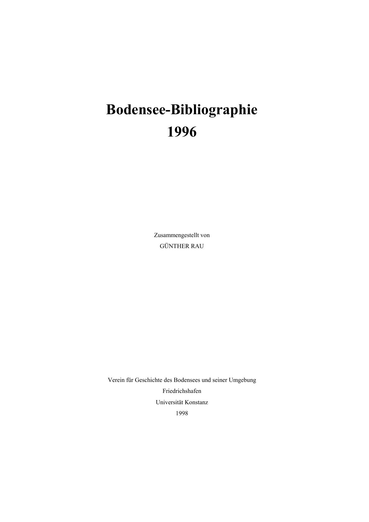 Bodensee Bibliographie 1996 Kops Manualzzcom