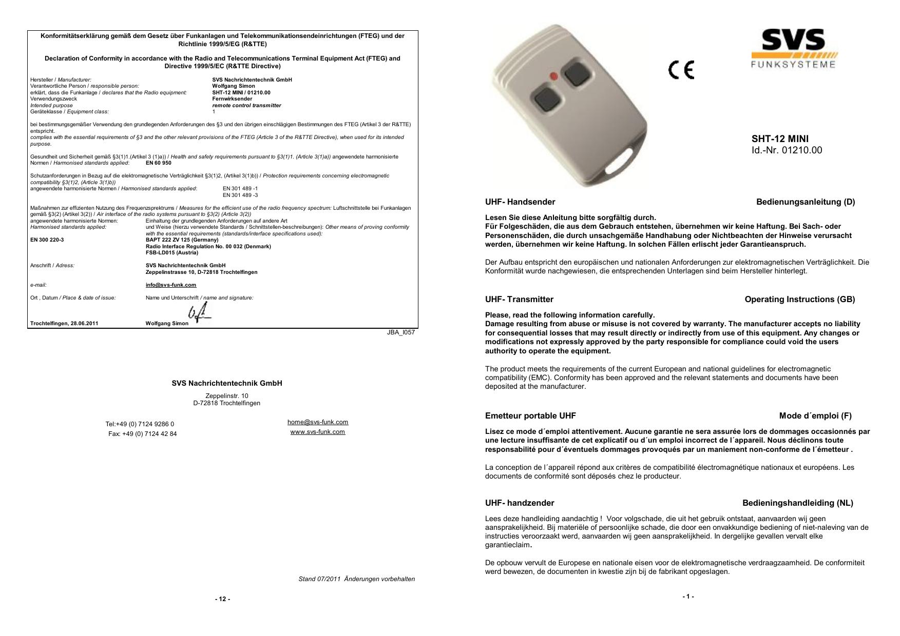 Anleitung - Voelkner | Manualzz