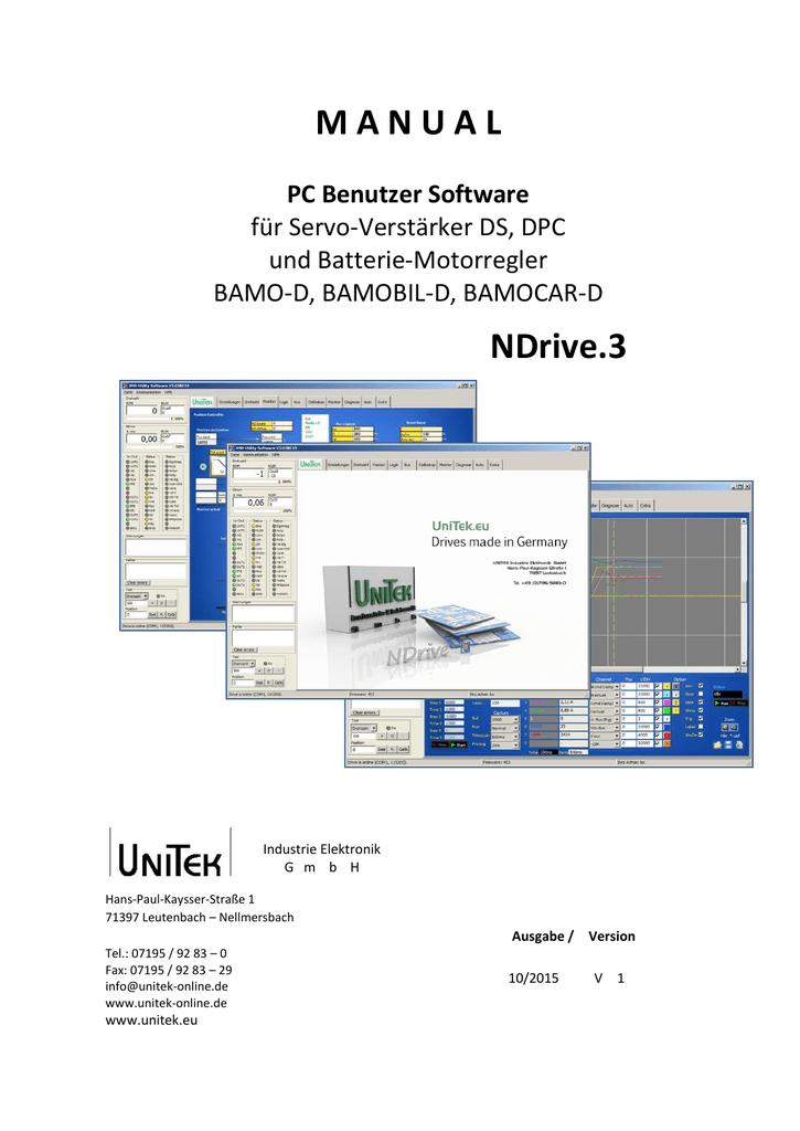 NDrive .2 - UNITEK Industrie Elektronik   manualzz.com