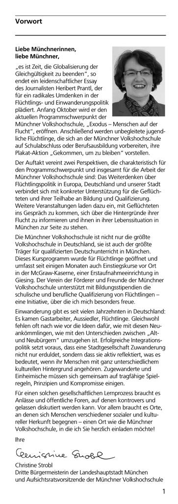 1 Vorwort Vorwort - Münchner Volkshochschule | manualzz.com