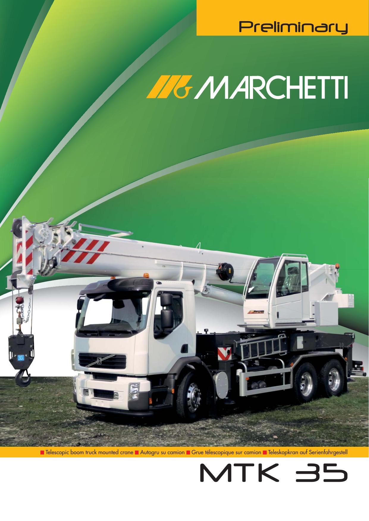 Catalogo Mtk 35 Marchetti Autogru Spa Manualzz