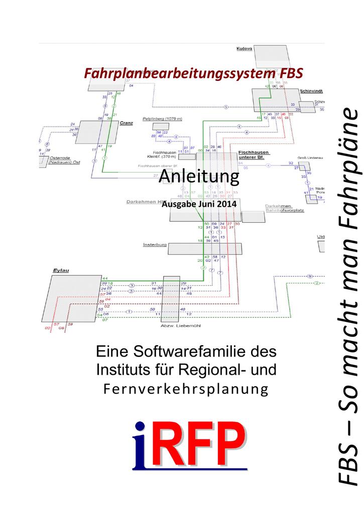 FBS-Anleitung (Stand: Juni 2014) | manualzz.com