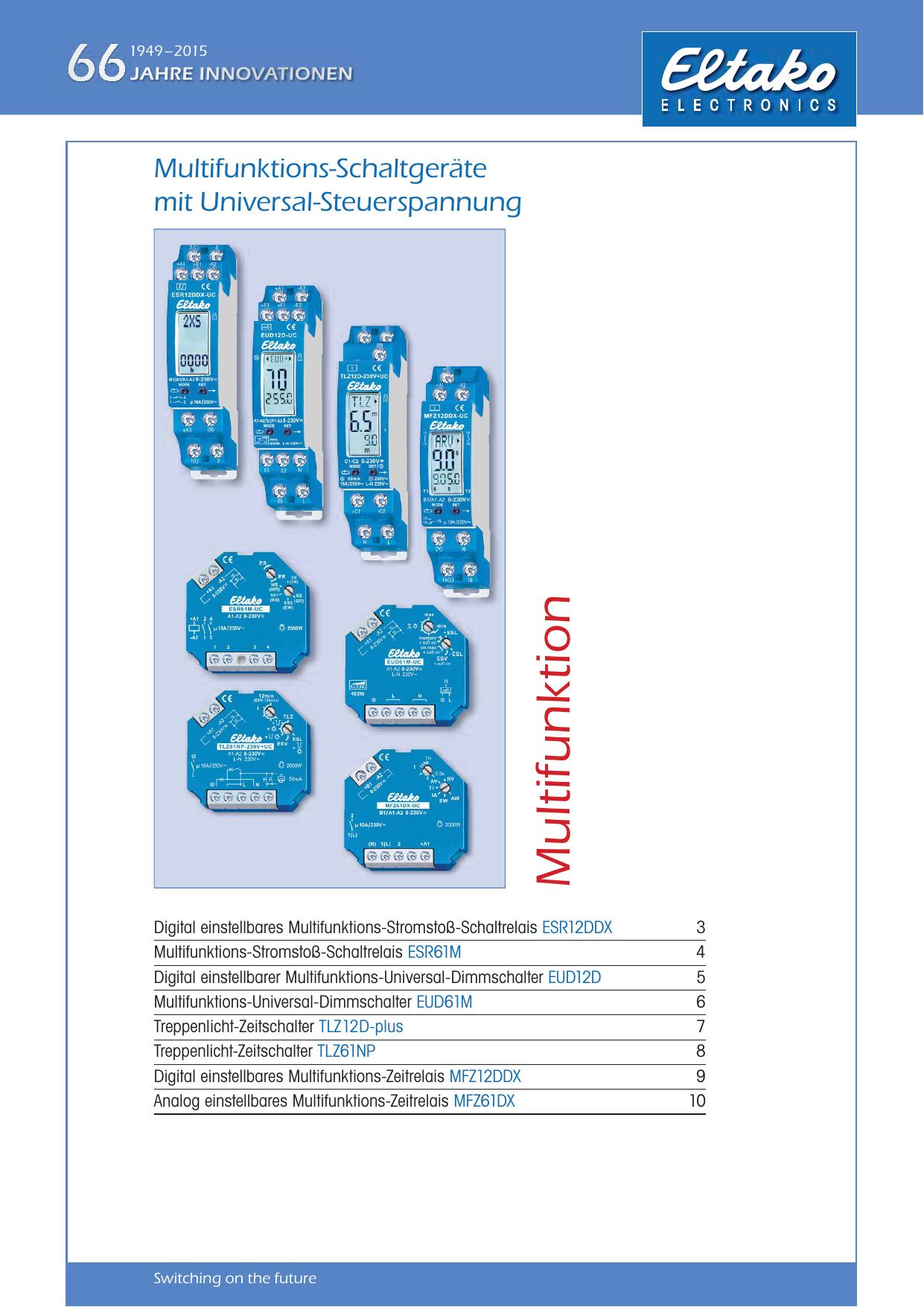 Schaltrelais Eltako Reiheneinbaugeräte zb Zeitschalter Auswahl
