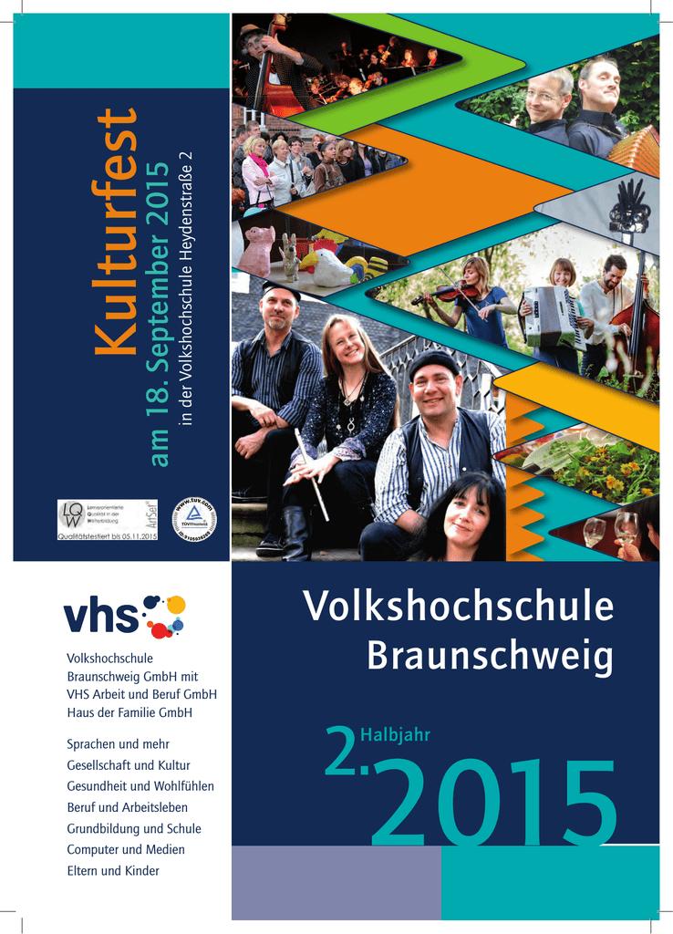 K ulturfest - Volkshochschule Braunschweig | manualzz.com