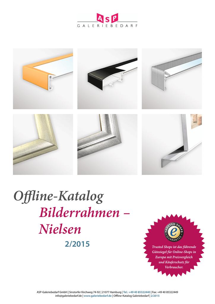 Offline-Katalog Bilderrahmen – Nielsen - ASP | manualzz.com