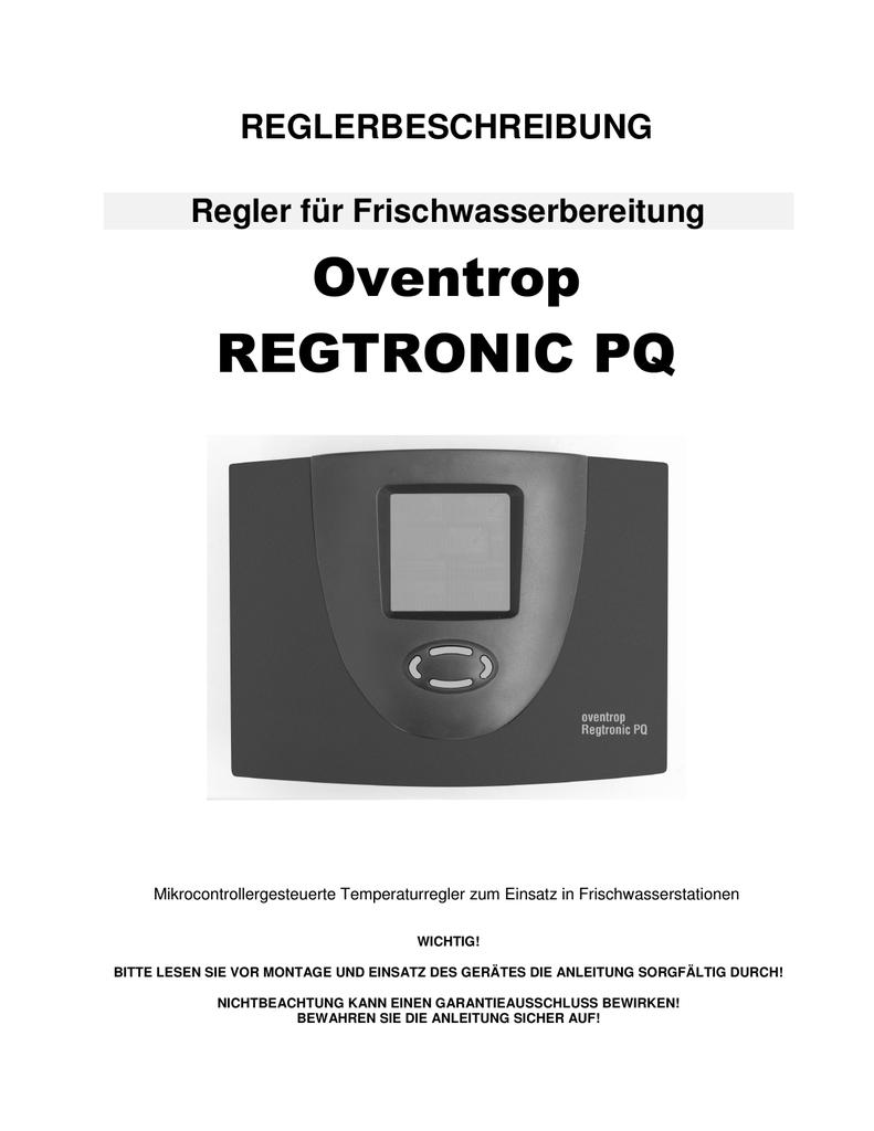 Anleitung - Oventrop   manualzz.com