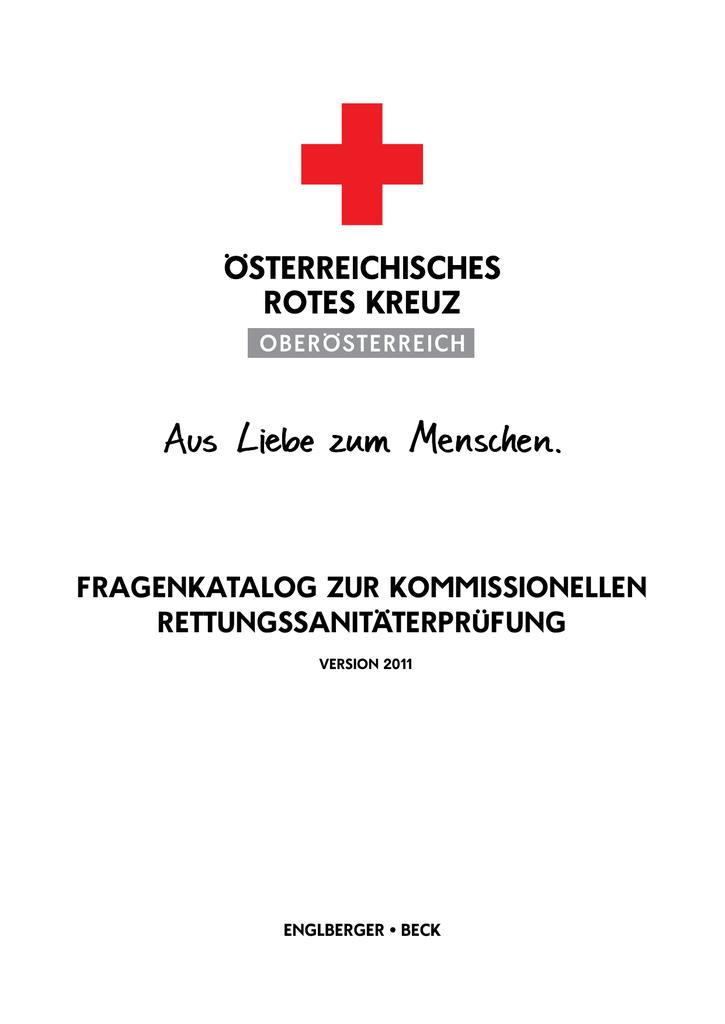 Fragenkatalog Rettungssanitäterprüfung - englberger.at | manualzz.com