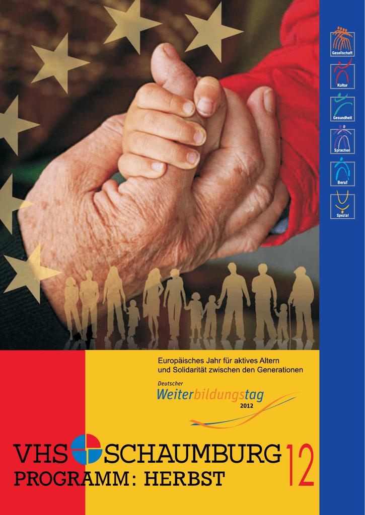 Programm VHS Schaumburg Herbst 2012 - SN   manualzz.com