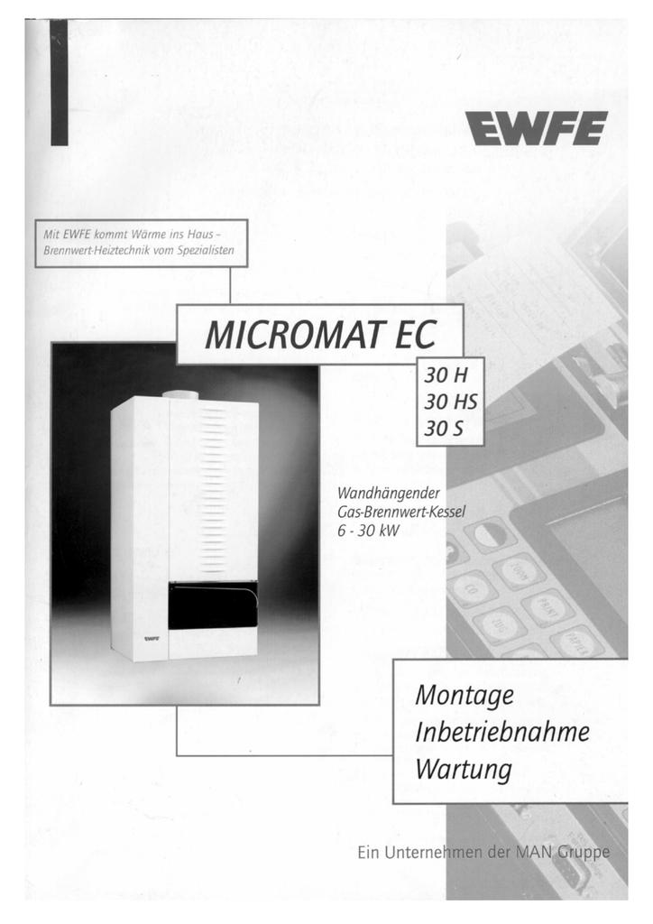 MIW MICROMAT EC 30 - neue Sortierung - 13.07.98 | manualzz.com
