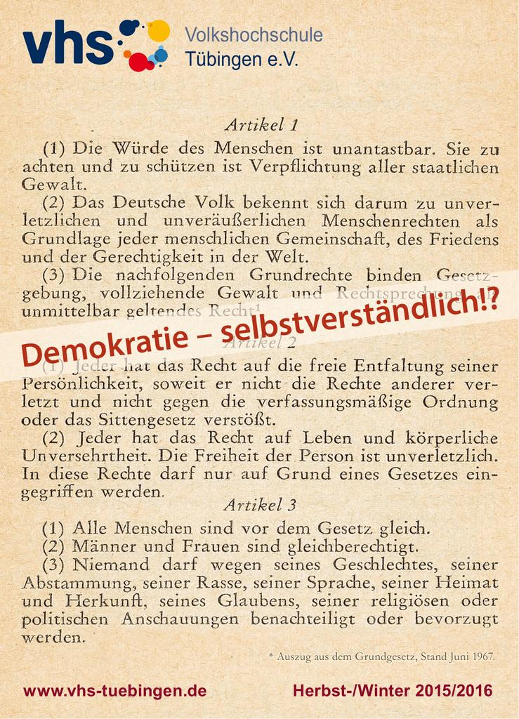 Demokratie – selbstverständlich!? | manualzz.com