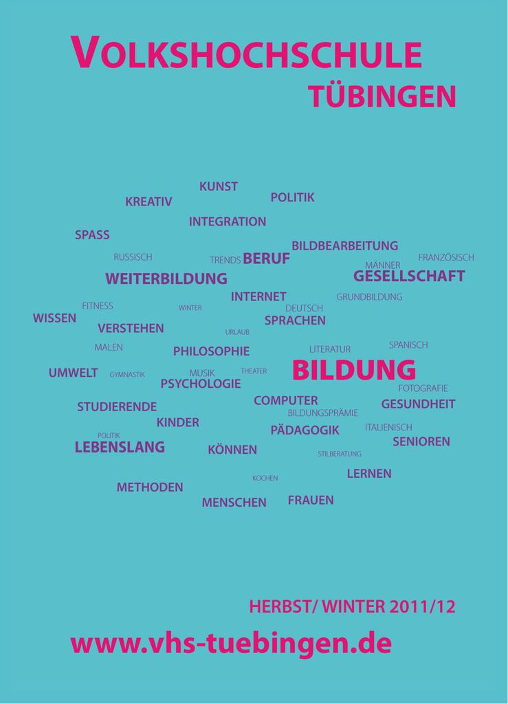 VOLKSHOCHSCHULE - Deutsches Institut für Erwachsenenbildung ...