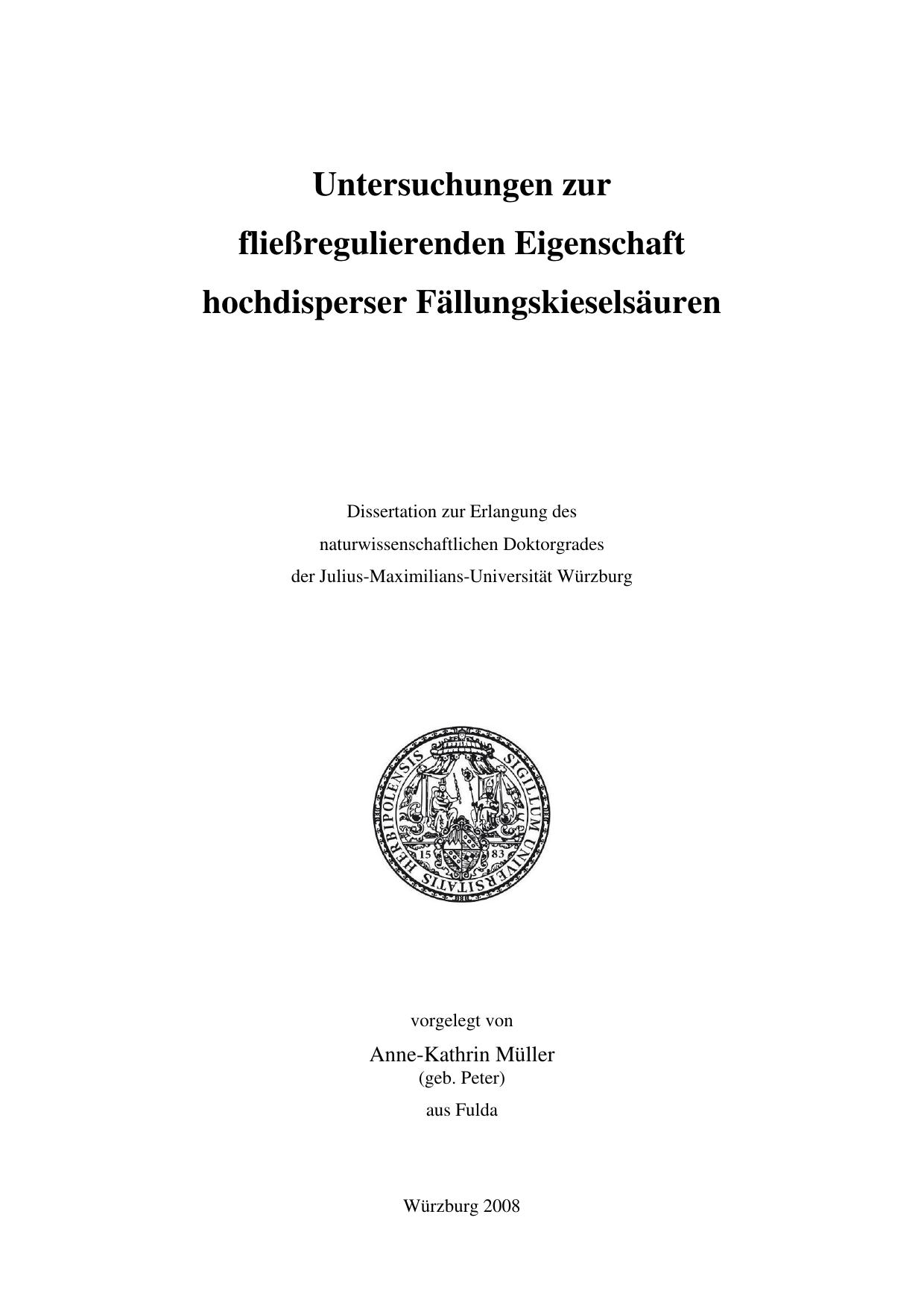 Untersuchungen zur fließregulierenden | manualzz.com