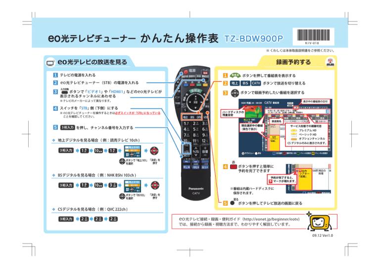 光 テレビ eo eo光テレビとは?月額料金やチャンネルなどサービス内容を徹底解説!