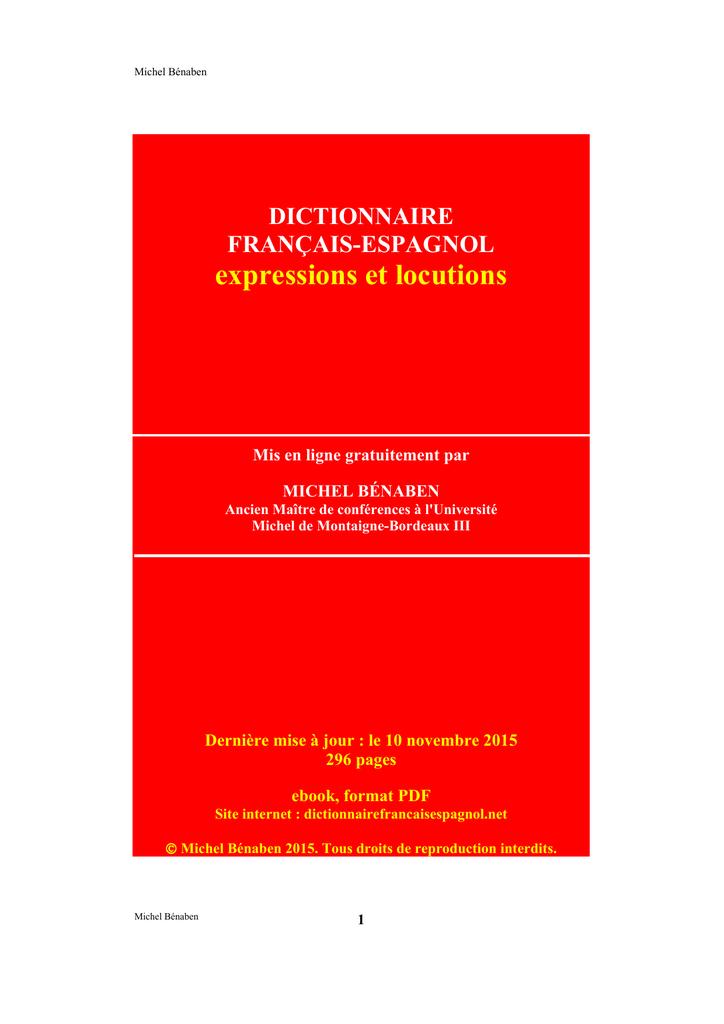 6cced042b365 expressions et locutions - Dictionnaire français