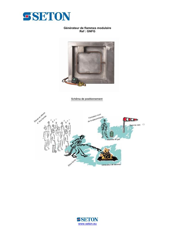 Générateur De Flammes Modulaire Manualzzcom