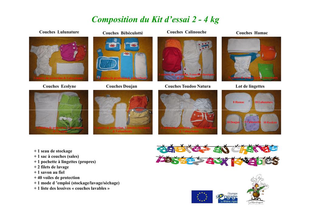 Composition Des 3 Kits Dessai Mode De Manualzzcom