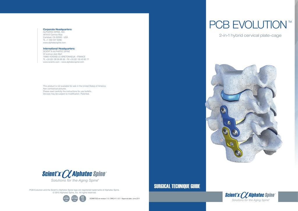 PCB EVOLUTIONTM | manualzz com