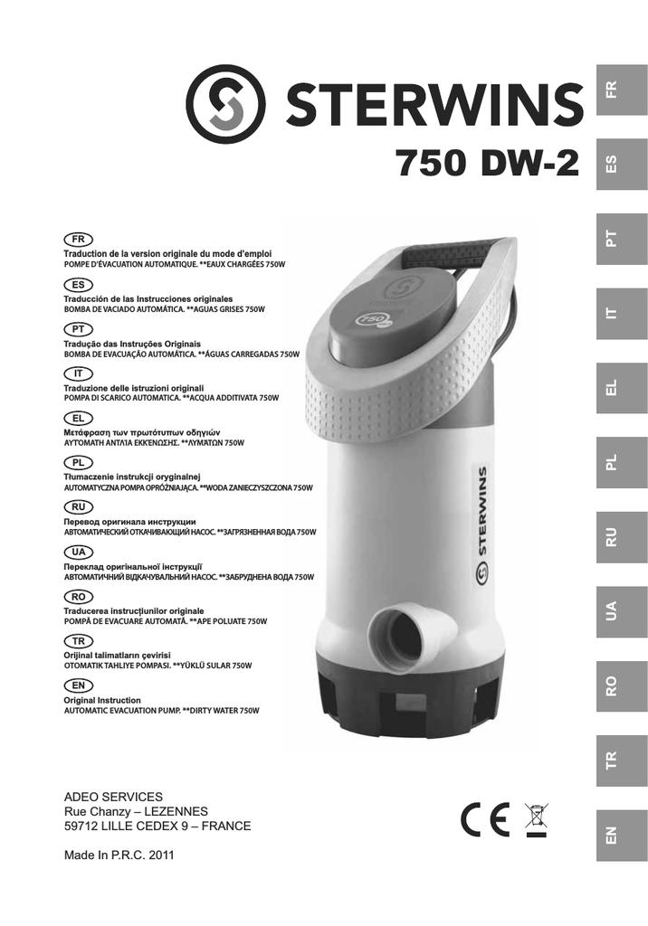 750 Dw 2 Leroy Merlin Manualzzcom