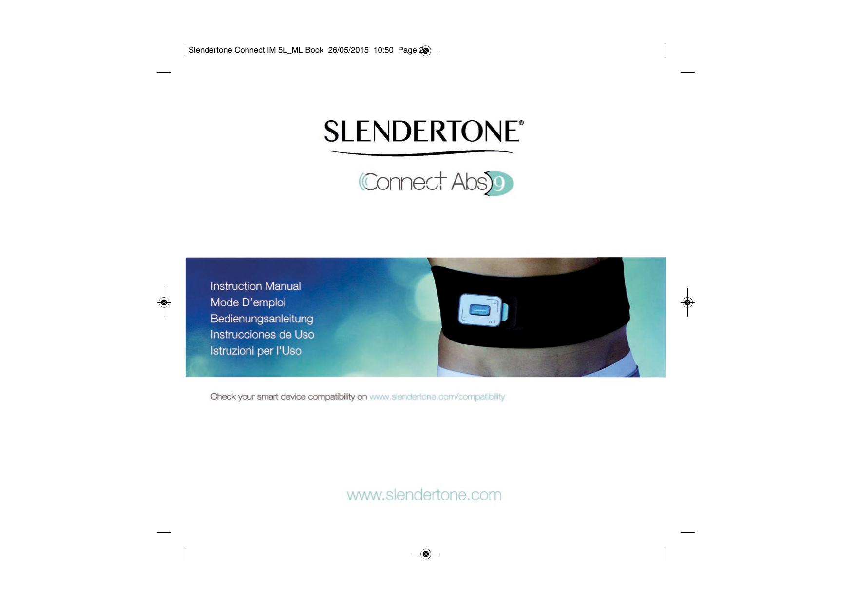 Slendertone Connect Abs Cintura di tonificazione addominale ...