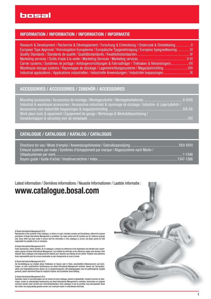 Rohrverbinder Abgasanlage BOSAL 265-123