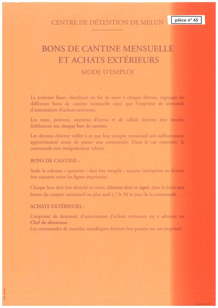 Bons De Cantine Mensuelle Manualzz Com
