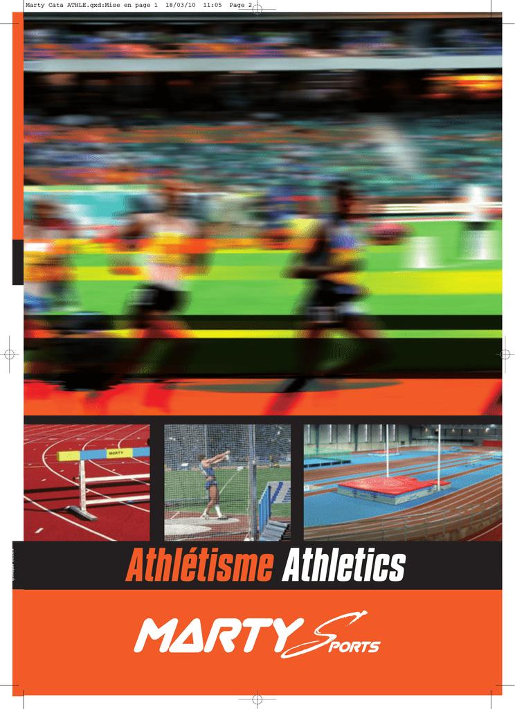 0296665b1312 Athlétisme - Marty sports