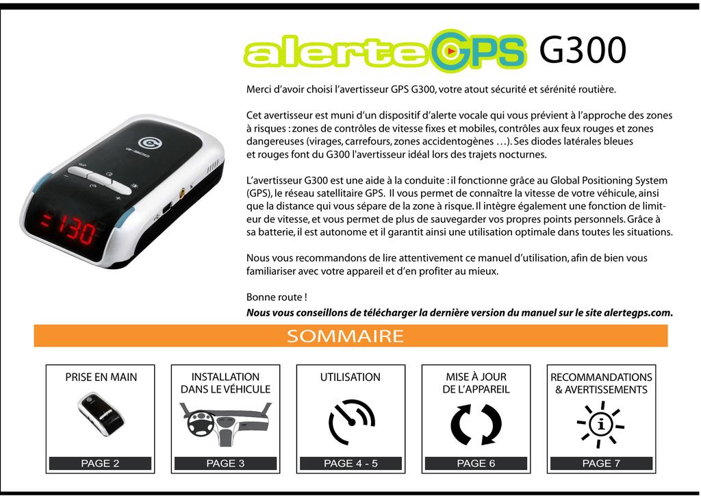 JOUR A G220 ALERTE MISE TÉLÉCHARGER GPS