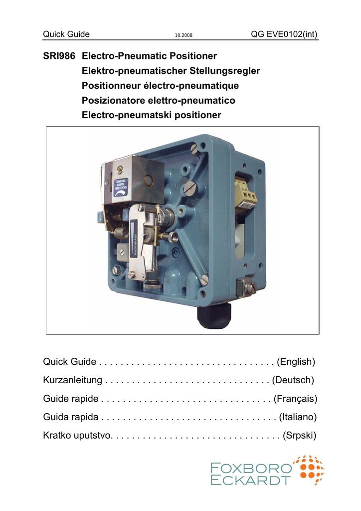 Quick Guide Sri986 En Page De Garde 10 08 Manualzz Com