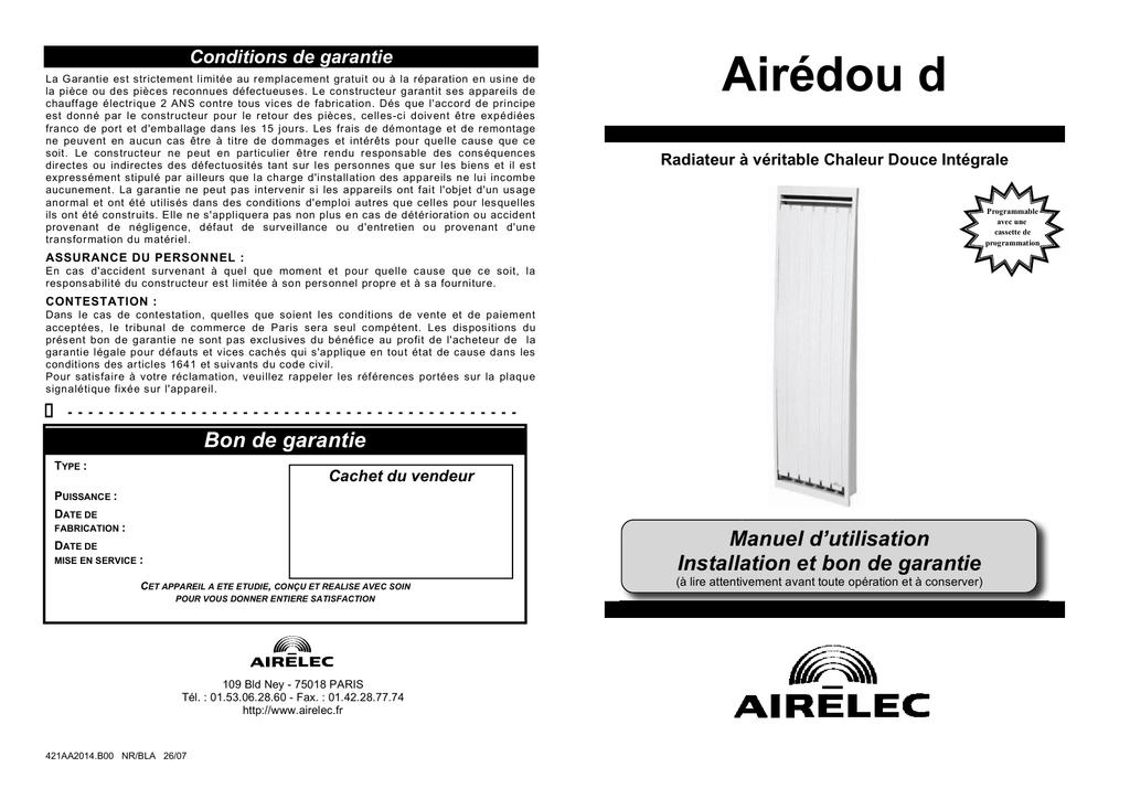 Airédou D Leroy Merlin Manualzzcom