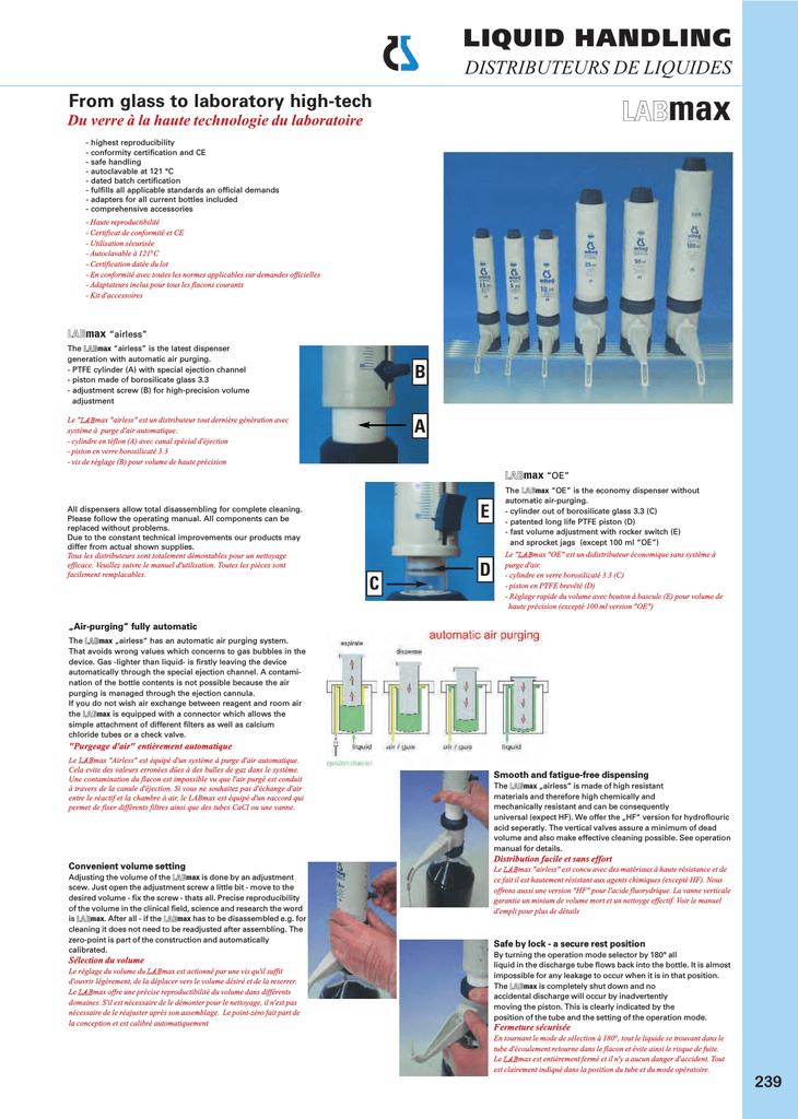 Witeg pipetta supporto per 7/x Witopet Economy//FIX